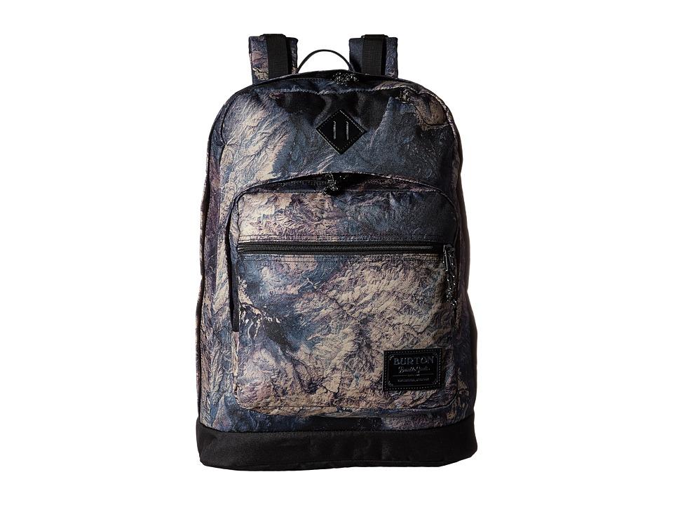 Burton - Big Kettle Pack (Earth Print) Backpack Bags