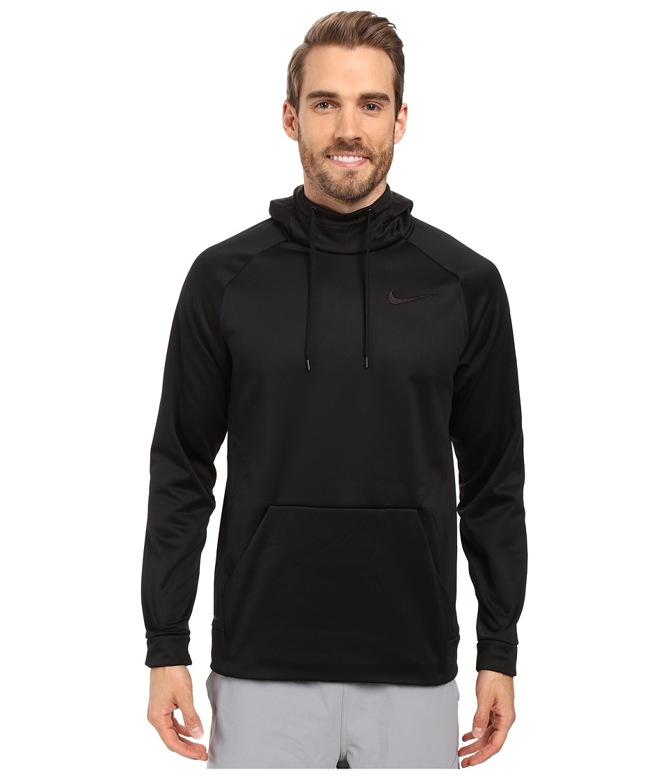 Nike Therma Pullover Training Hoodie (Black/Black) Men