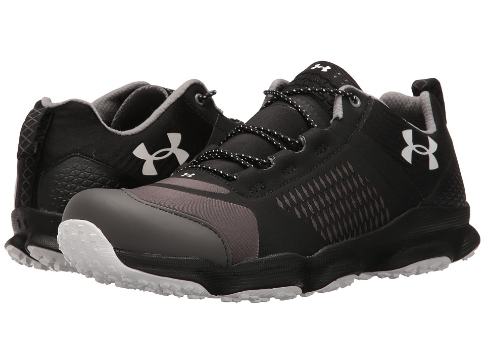 Under Armour - UA Speedfit Hike Low (Black/White) Men's Shoes