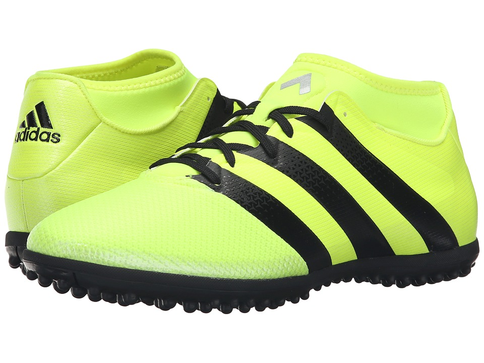 adidas - Ace 16.3 Primemesh TF (Solar Yellow/Black/Silver Metallic) Men's Soccer Shoes