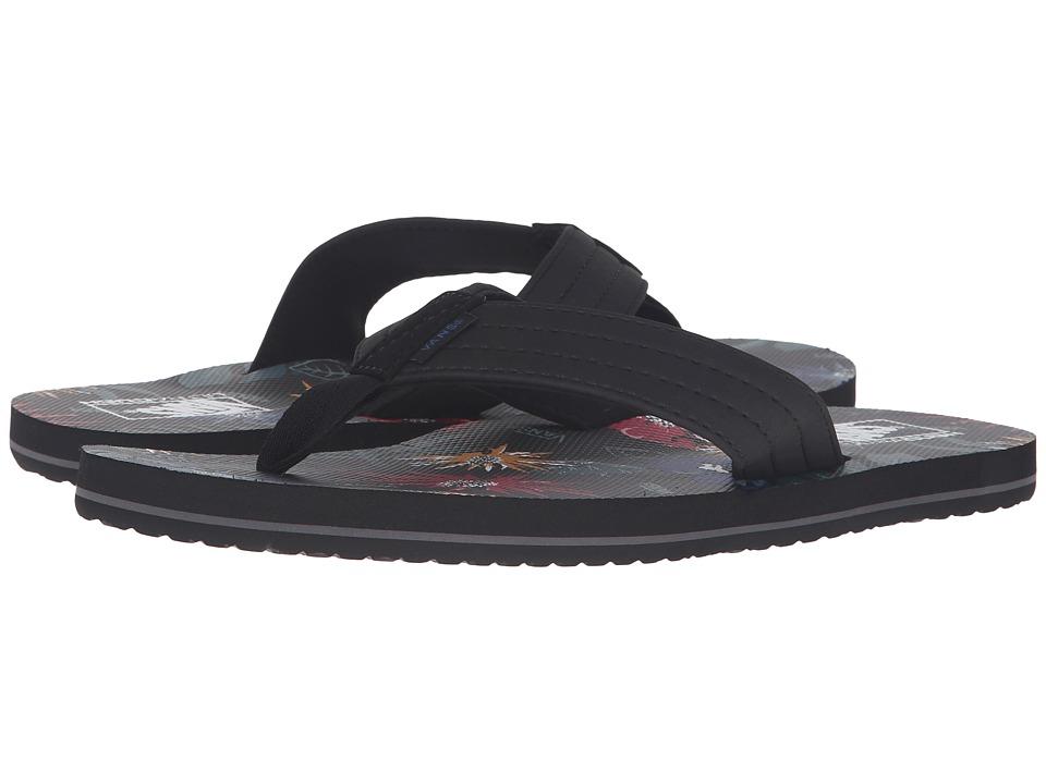 Vans - T Street ((Desert Aloha) Black/Multi) Men's Sandals