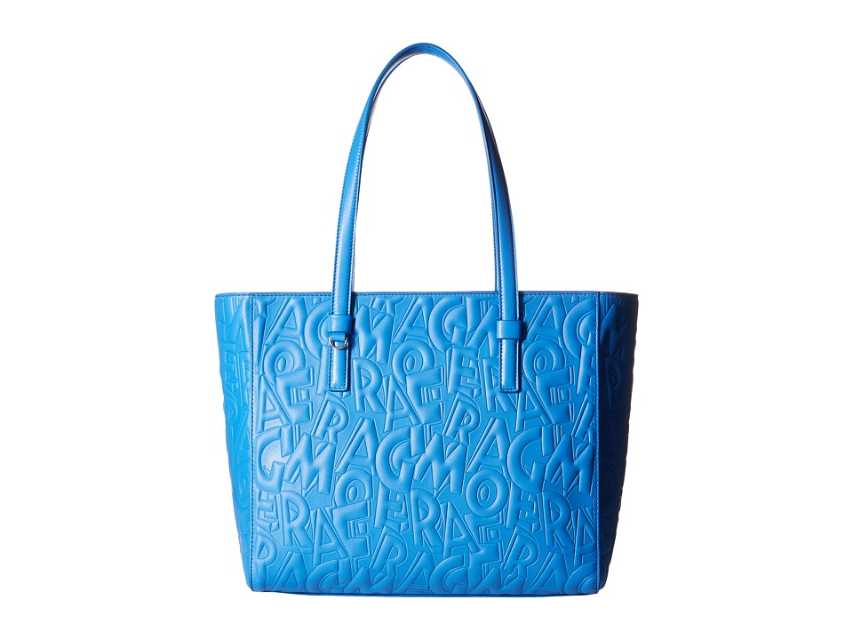 Salvatore Ferragamo - Bonnie (Blue Indien) Handbags