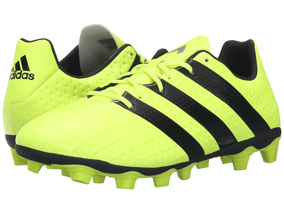 adidas - Ace 16.4 FxG (Solar Yellow/Silver Metallic/Black) Men's Soccer Shoes