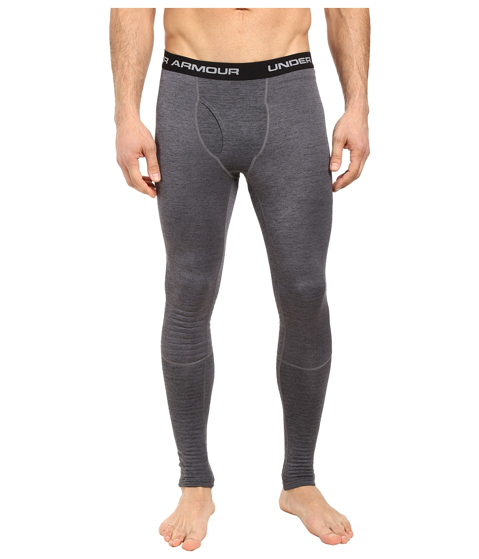 Under Armour - UA Base 2.0 Leggings (Black/Steel) Men's Casual Pants