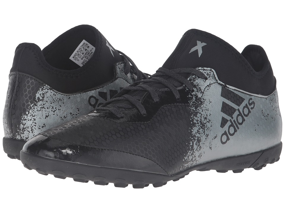 adidas - X 16.3 Cage (Black/Dark Grey/Solar Red) Men's Shoes