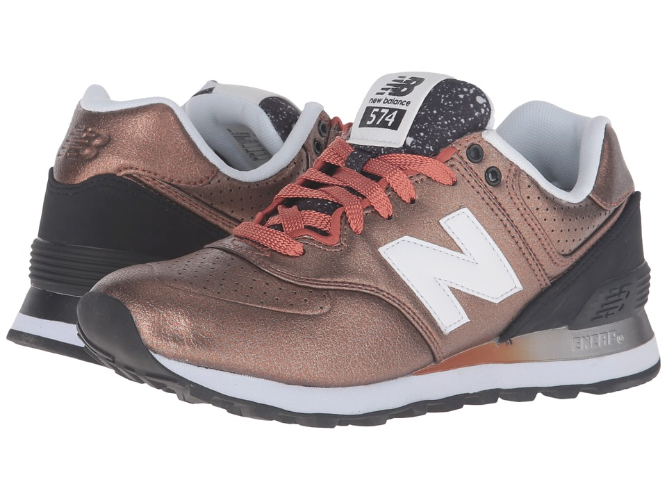 New Balance Classics - WL574Bv1 (Copper/Black) Women's Shoes