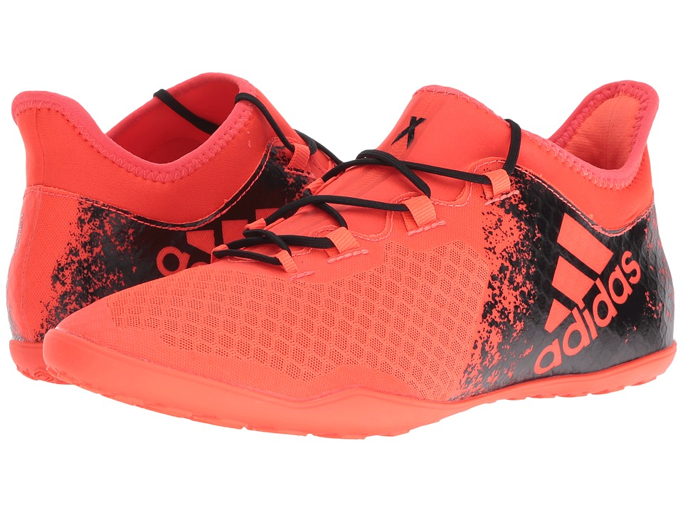 adidas - X 16.2 Court (Solar Red/Black) Men's Shoes
