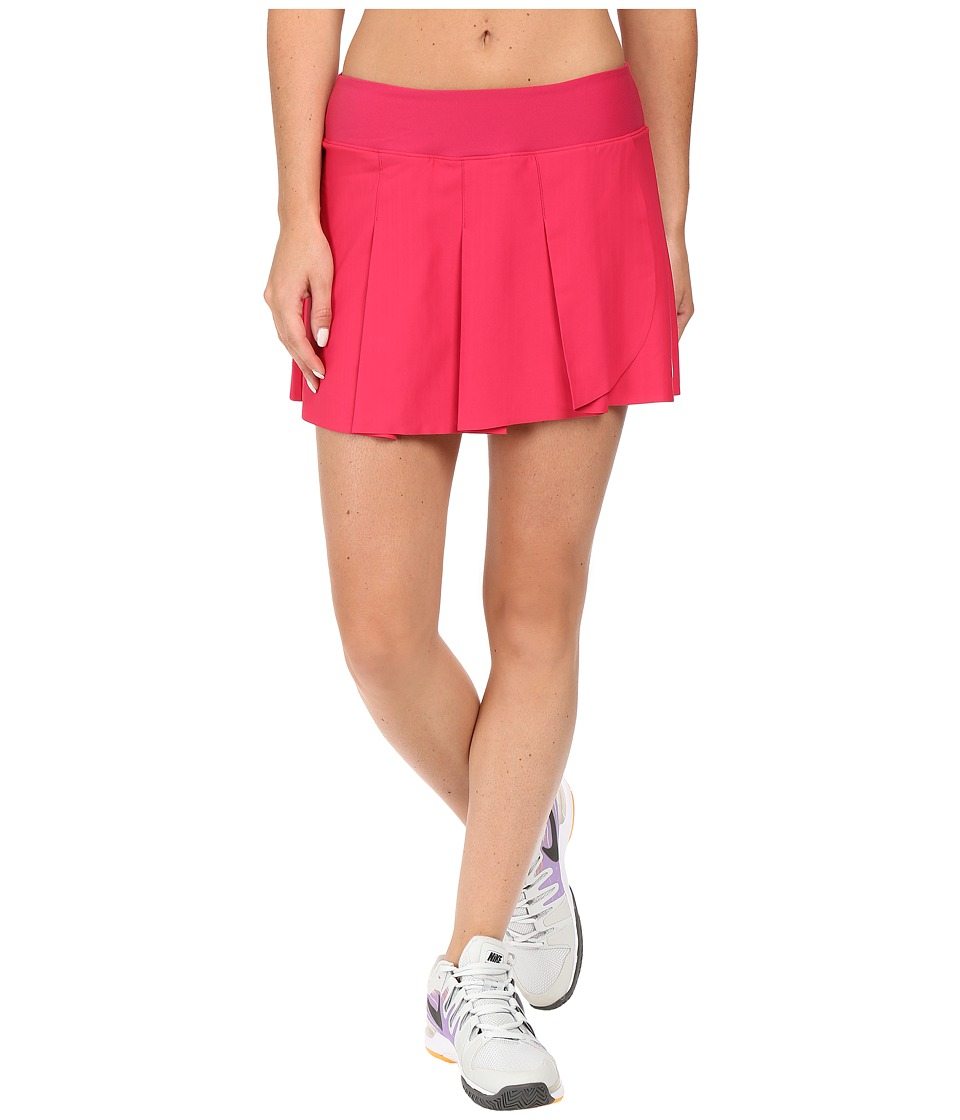 Nike - Court Power Premier Tennis Skirt (Fuchsia Flux/White) Women's Skirt