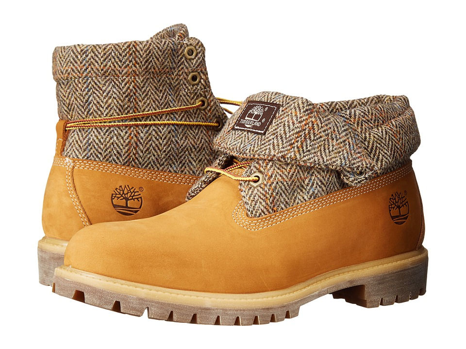 Timberland - Rolltop (Plaid/Wheat) Men