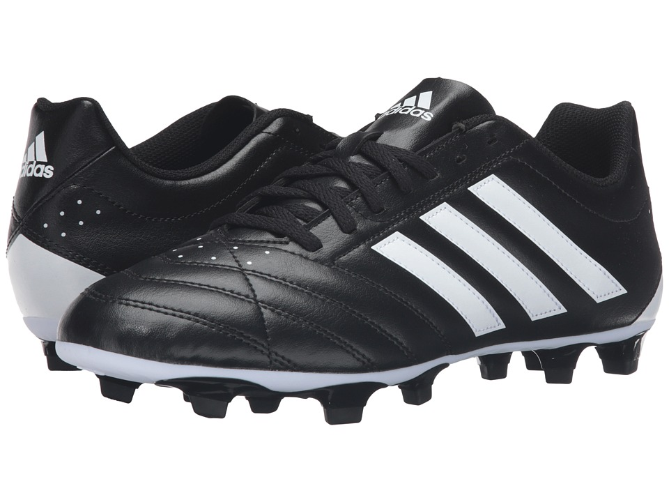 adidas - Goletto V FG (Black/White) Men's Cleated Shoes