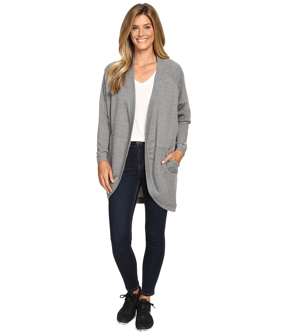 Nike - Sportswear Modern Cardigan (Carbon Heather/Dark Grey) Women's Sweater