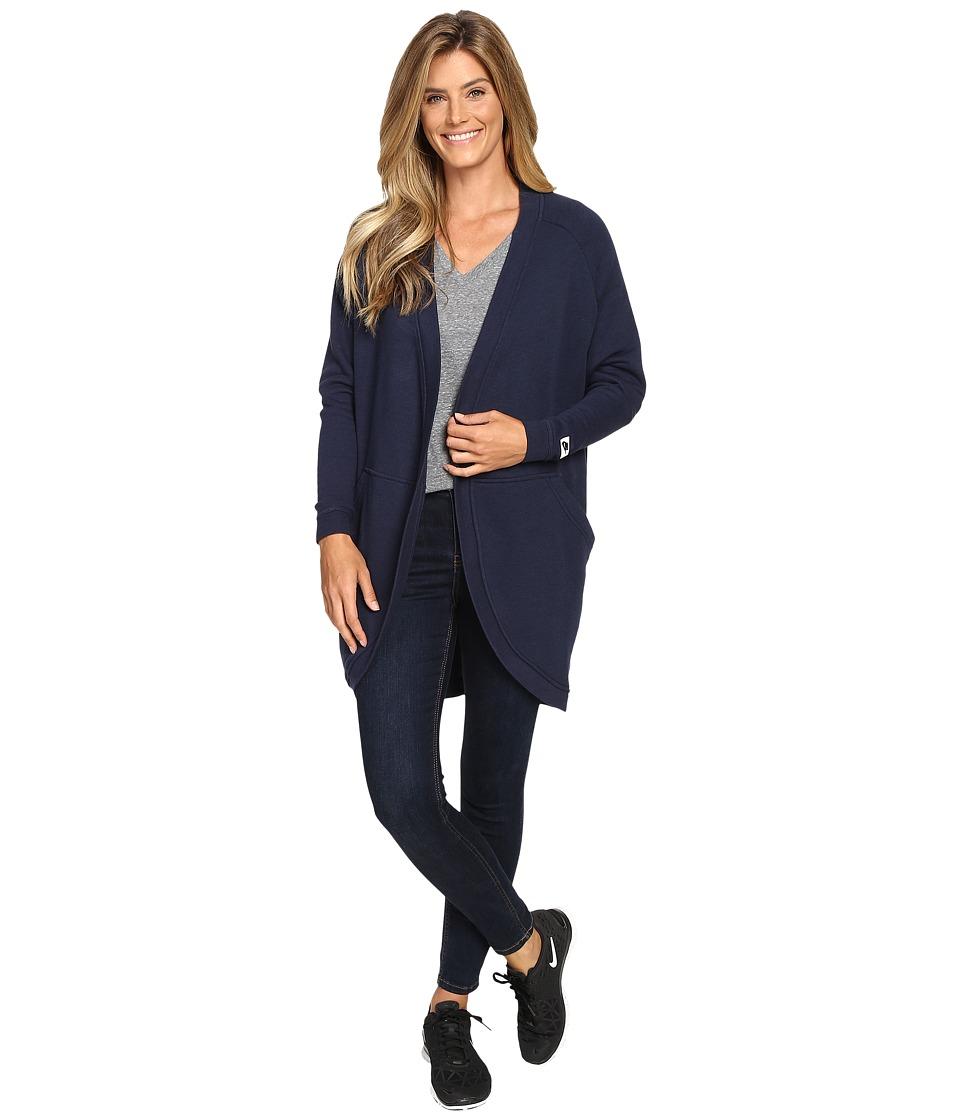 Nike - Sportswear Modern Cardigan (Obsidian/Obsidian) Women's Sweater