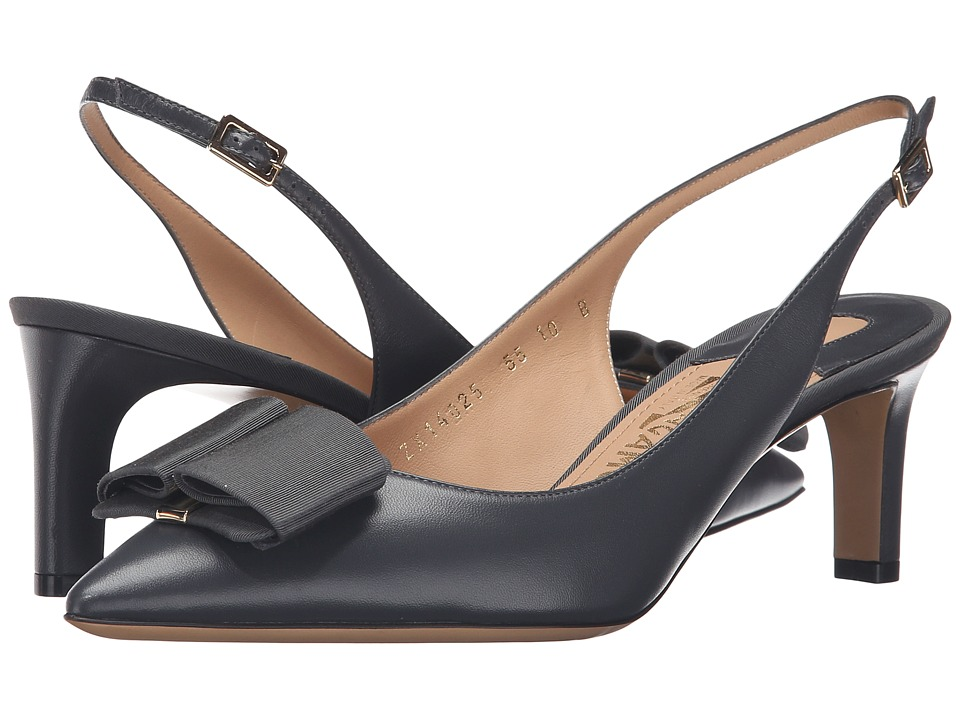 Salvatore Ferragamo Mimmi (Fumee Nappa Leather) High Heels