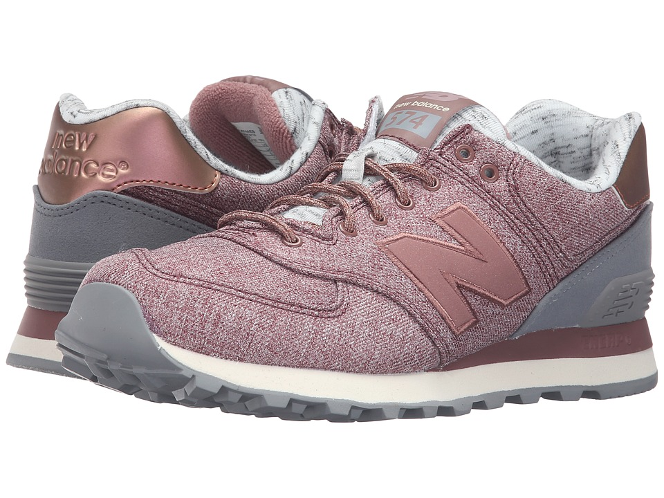 New Balance Classics - WL574 (Lush/Steel) Women's Lace up casual Shoes