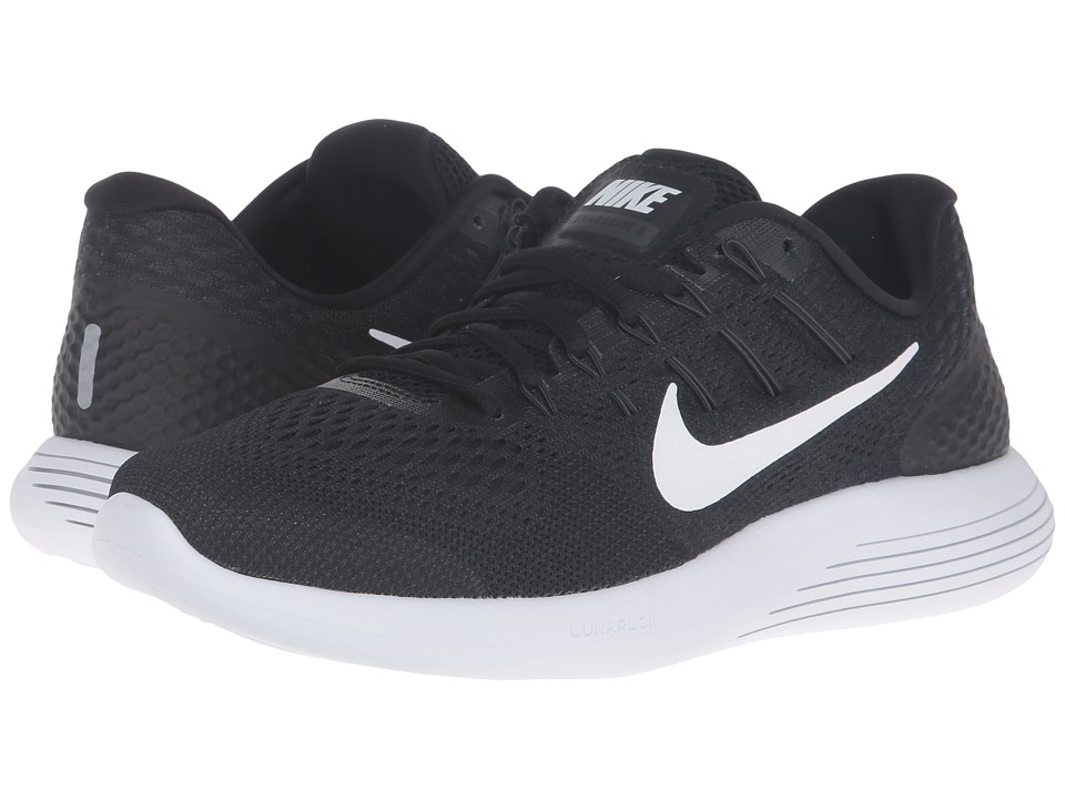 Nike - Lunarglide 8 (Black/White/Anthracite) Men's Running Shoes