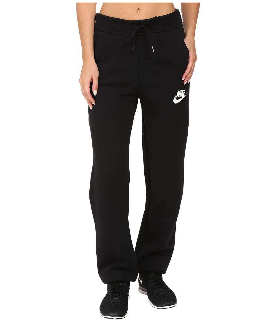 Nike - Rally Loose Pant (Black/Black/Antique Silver/White) Women's Casual Pants