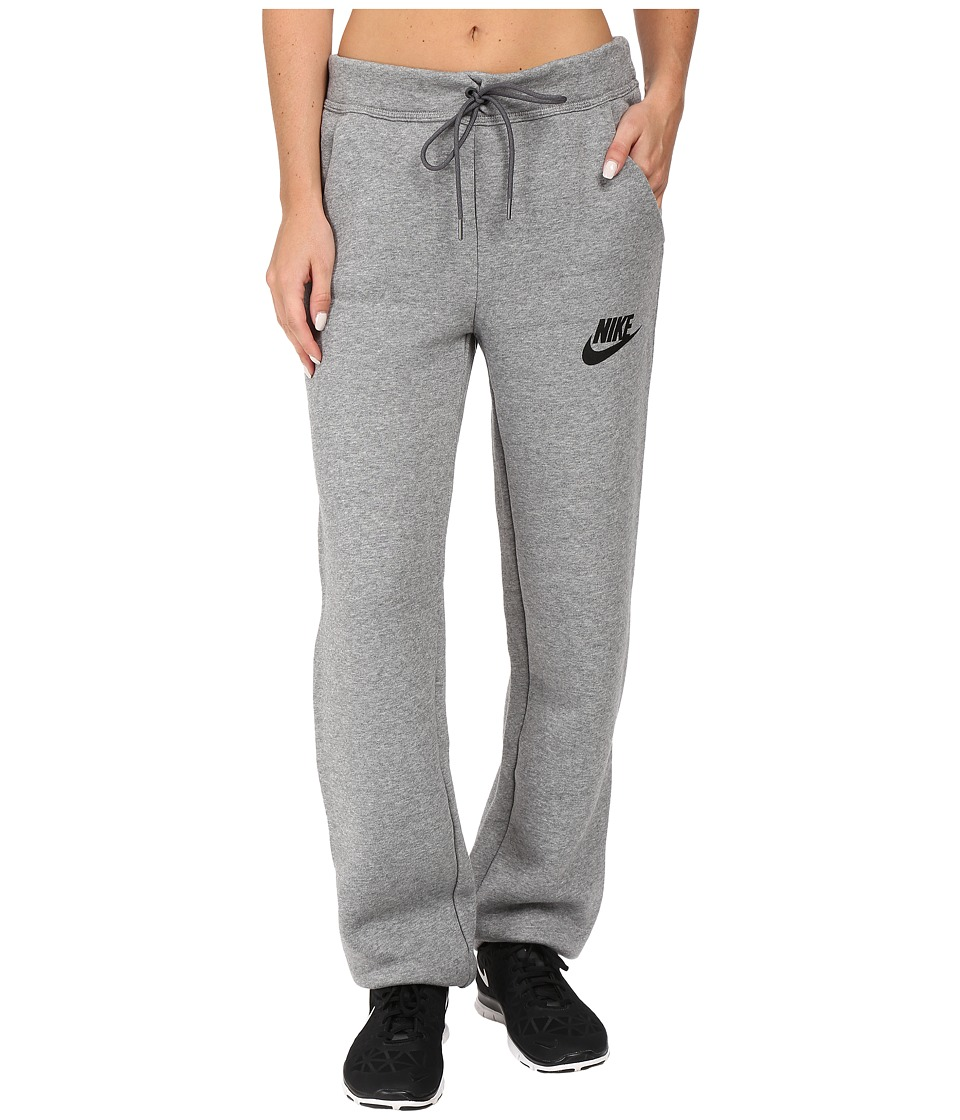 Nike - Rally Loose Pant (Carbon Heather/Dark Grey/Black) Women's Casual Pants