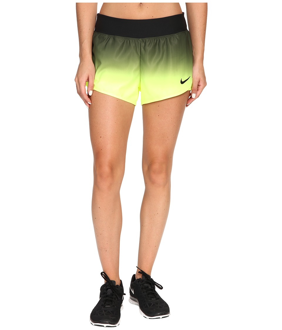Nike - Court Flex Ace Tennis Short (Black/Black) Women's Shorts