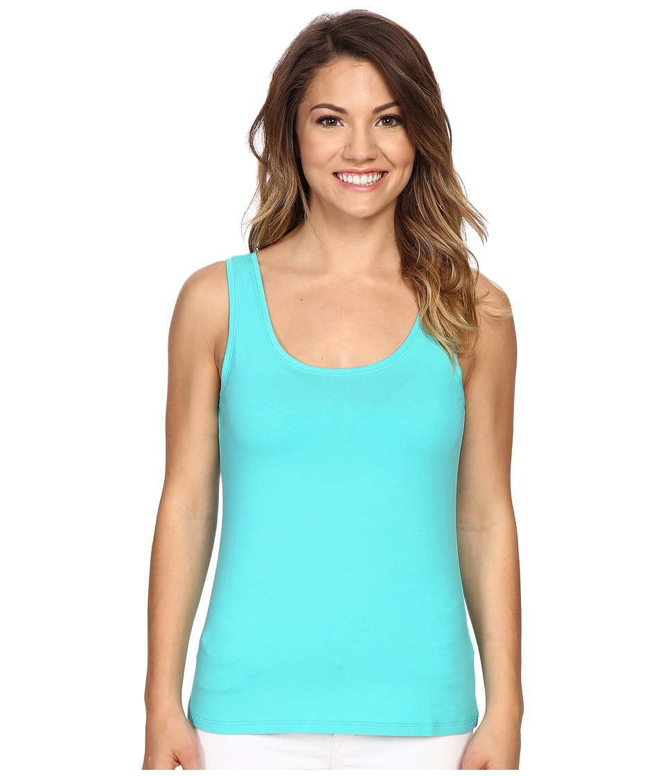 NIC+ZOE - Petite Perfect Tank Top (Aquarium) Women's Sleeveless