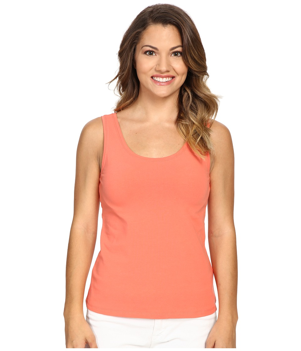 NIC+ZOE - Petite Perfect Tank Top (Coral Sun) Women's Sleeveless