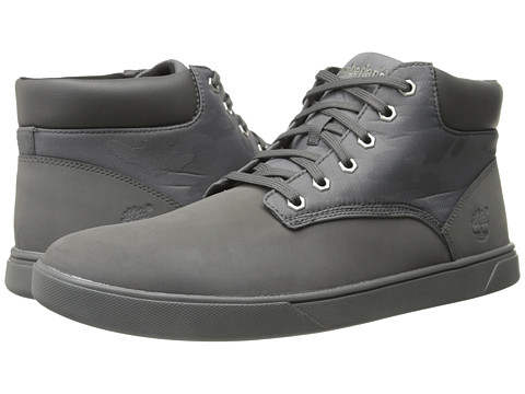 Timberland - Groveton Plain Toe Chukka (Grey) Men's Lace-up Boots