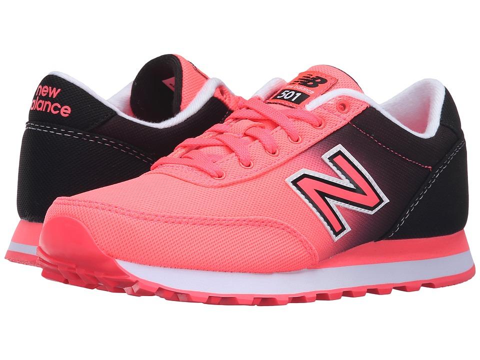 New Balance Classics - WL501 (Guava/Black) Women's Classic Shoes