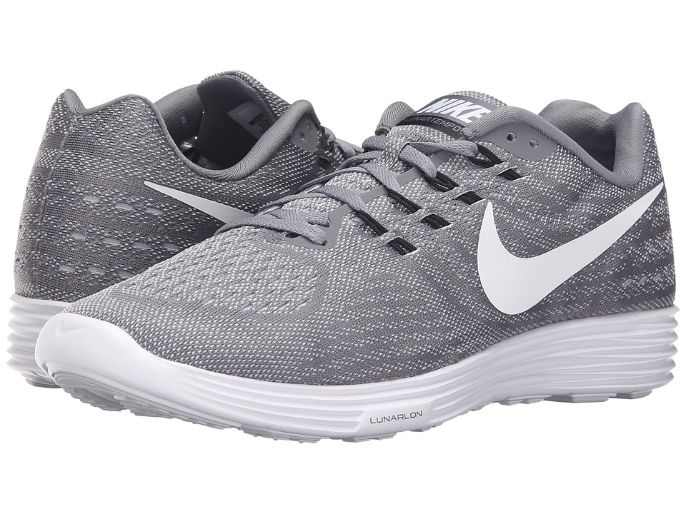 Nike - Lunartempo 2 (Cool Grey/White/Pure Platinum/Black) Men's Running Shoes