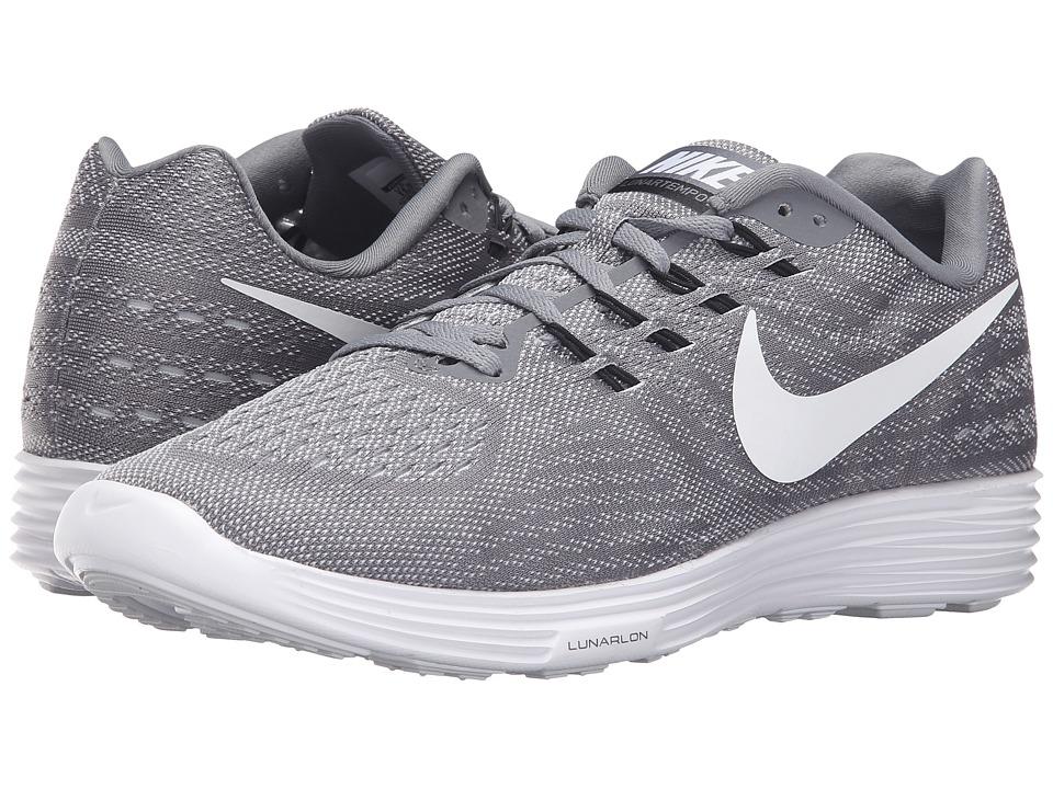 Nike - Lunartempo 2 (Cool Grey/White/Pure Platinum/Black) Men's Running Shoes