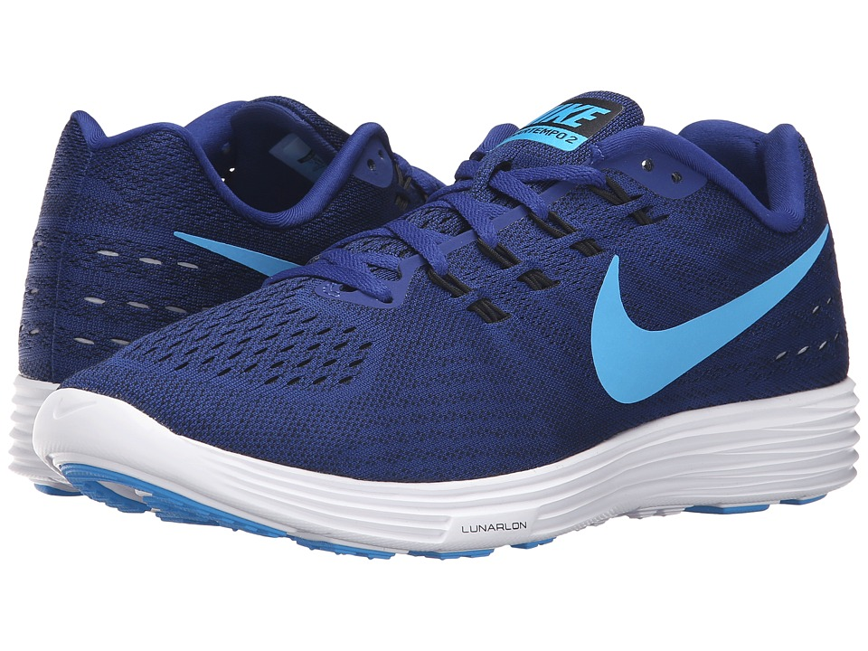 Nike - Lunartempo 2 (Deep Royal Royal Blue/Blue Glow/Black/White) Men's Running Shoes