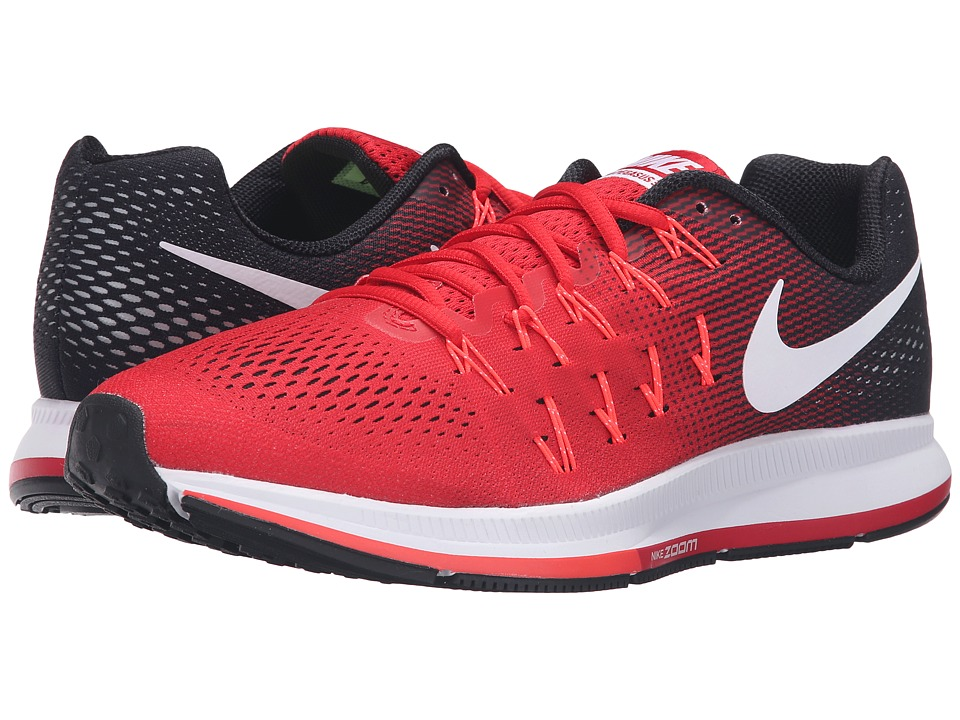 Nike - Air Zoom Pegasus 33 (University Red/White/Black/Bright Crimson) Men's Running Shoes