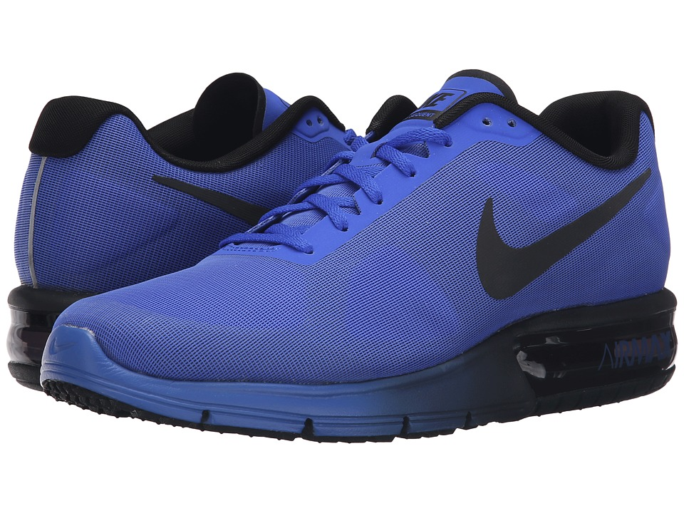 Nike - Air Max Sequent (Racer Blue/Black) Men's Running Shoes