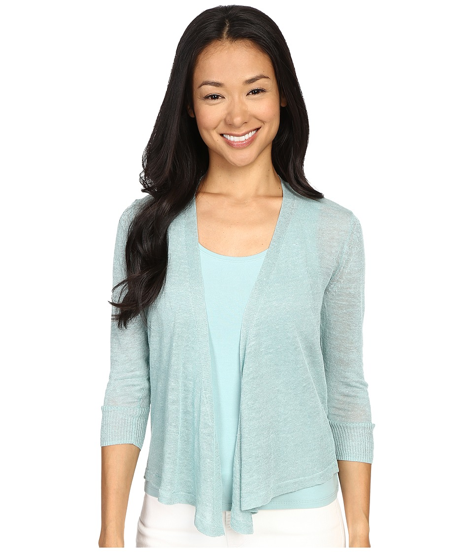 NIC+ZOE - Petite 4 Way Cardy (Aquifer) Women's Sweater