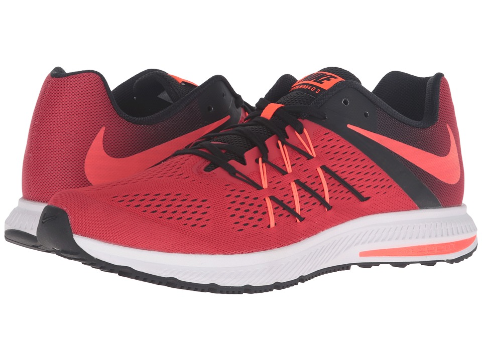 Nike - Zoom Winflo 3 (University Red/Total Crimson/Black/White) Men's Running Shoes
