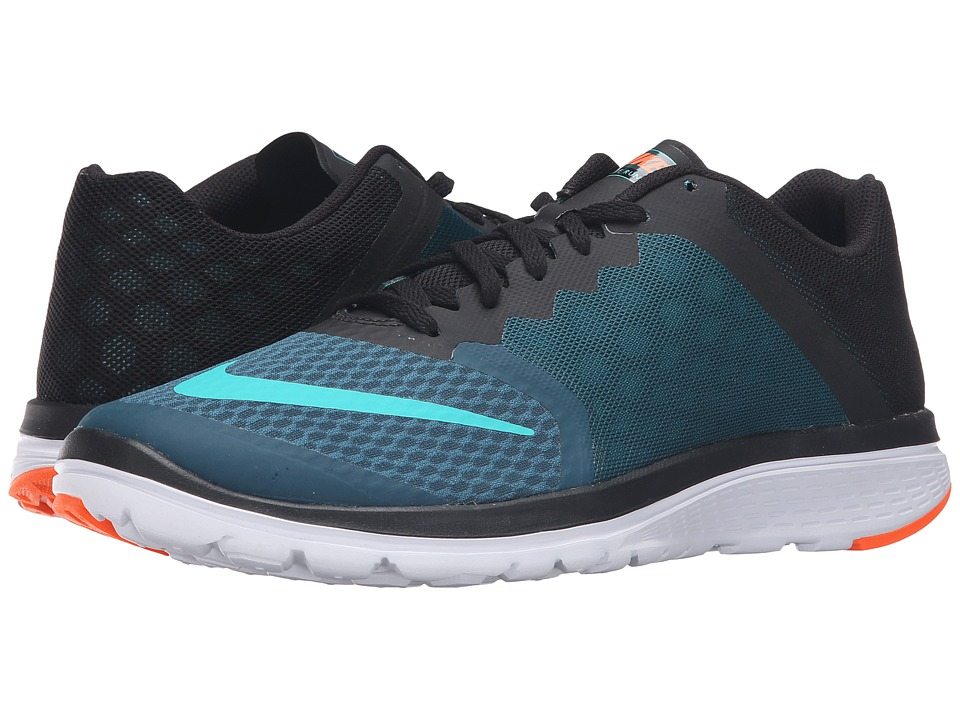 Nike - FS Lite Run 3 (Midnight Turquoise/Clear Jade/Black/White) Men's Running Shoes