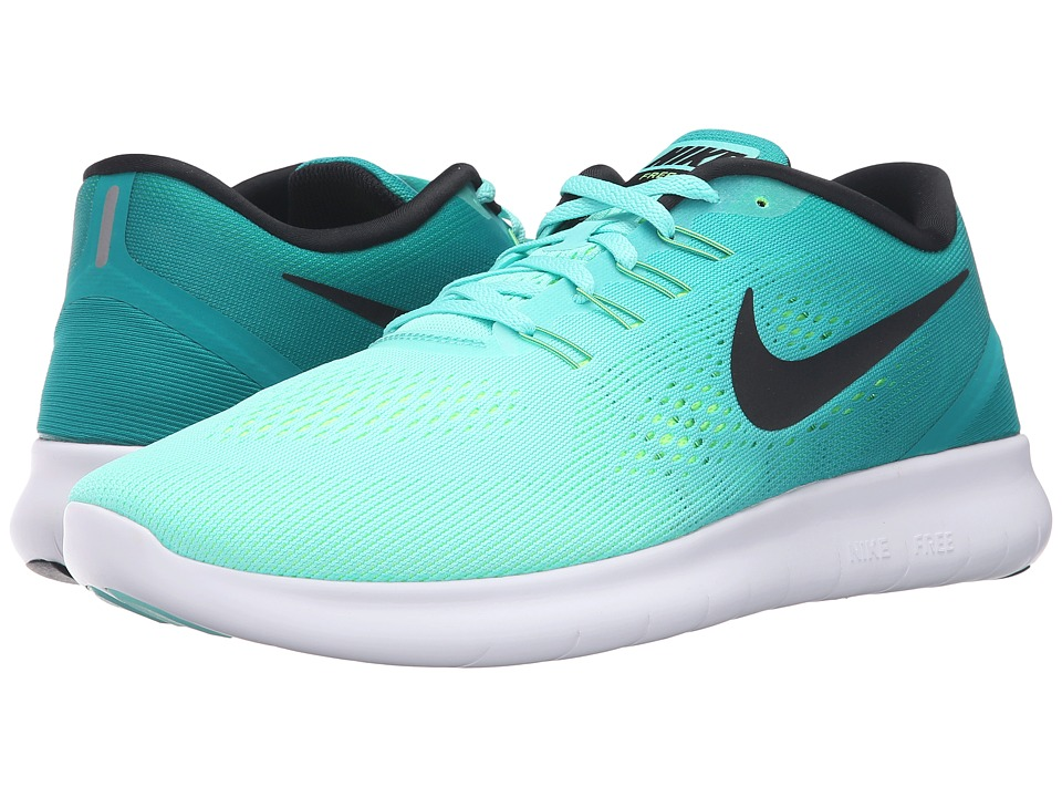 Nike - Free RN (Hyper Turquoise/Black/Rio Teal/Volt) Men's Running Shoes