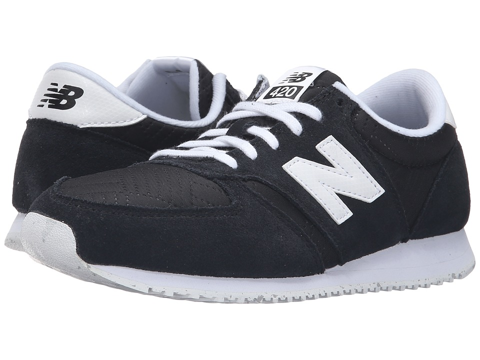 New Balance Classics - WL420v1 (Black/White) Women's Running Shoes