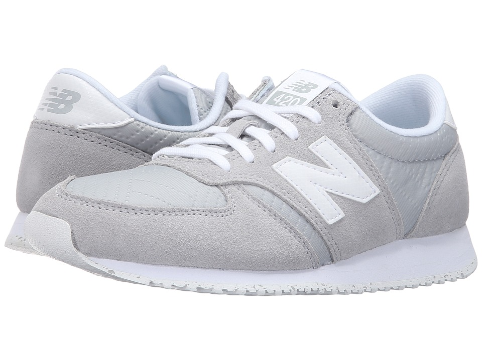 New Balance Classics - WL420v1 (Silver Mink/White) Women's Running Shoes
