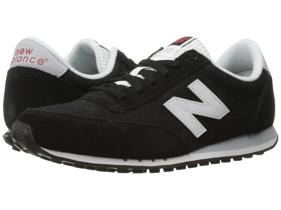 New Balance Classics - WL410v1 (Black/White) Women's Running Shoes