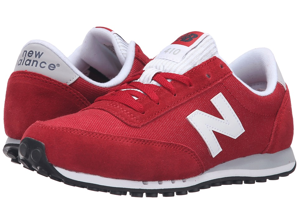 New Balance Classics - WL410v1 (Brick Red/White) Women's Running Shoes