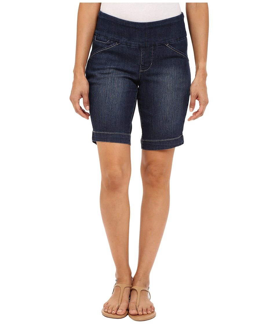 Jag Jeans Petite - Petite Ainsley Bermuda in Comfort Denim (Anchor Blue) Women's Shorts