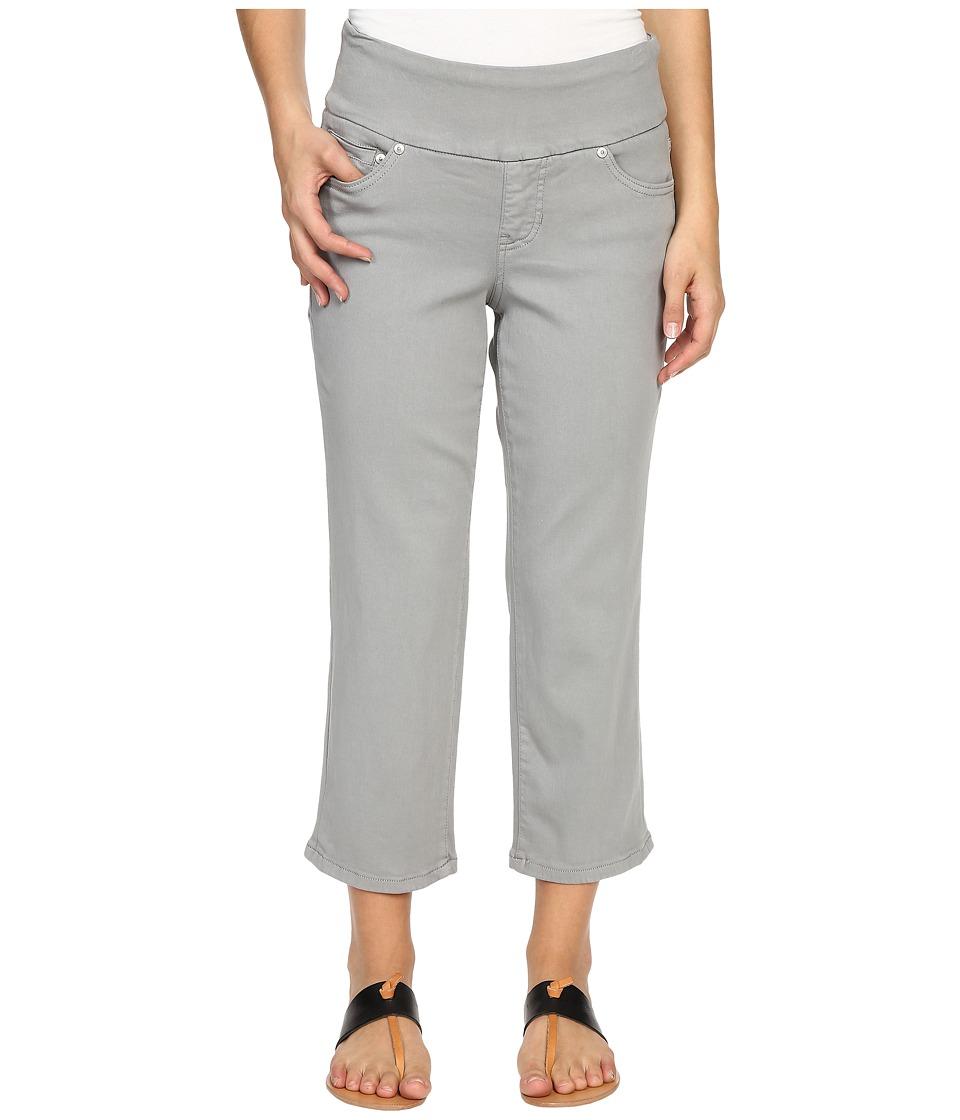 Jag Jeans Petite - Petite Echo Crop in Dolce Twill (Fog Grey) Women's Jeans