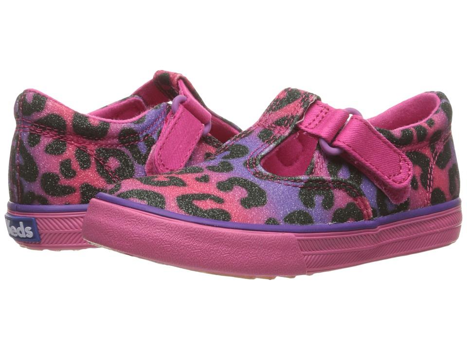 Keds Kids - Daphne (Infant/Toddler) (Multi Leopard Sugar Dip) Girls Shoes