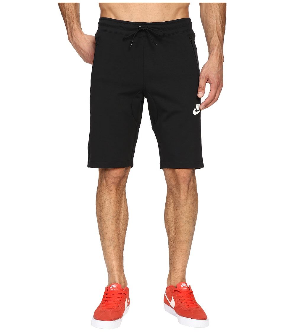Nike - NSW AV15 Fleece Shorts (Black/Black/Black/Black) Men's Shorts