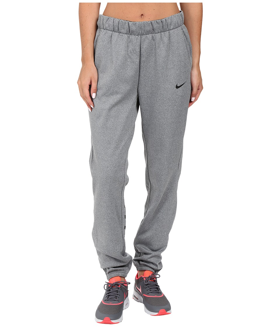 Nike - Therma Graphic Pant (Cool Grey/Heather/Black/Black) Women's Casual Pants