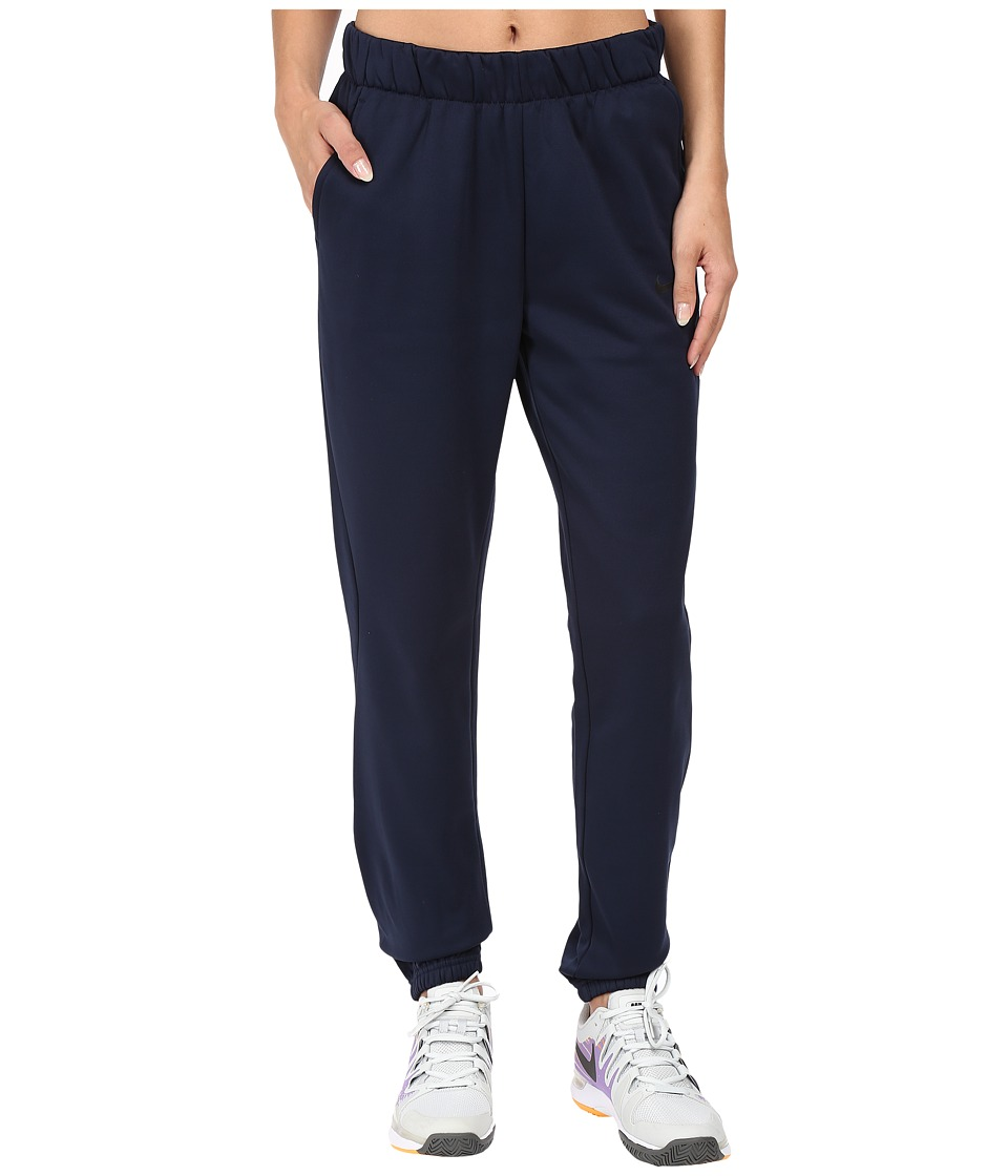 Nike - Therma Graphic Pant (Obsidian/Obsidian/Black/Black) Women's Casual Pants