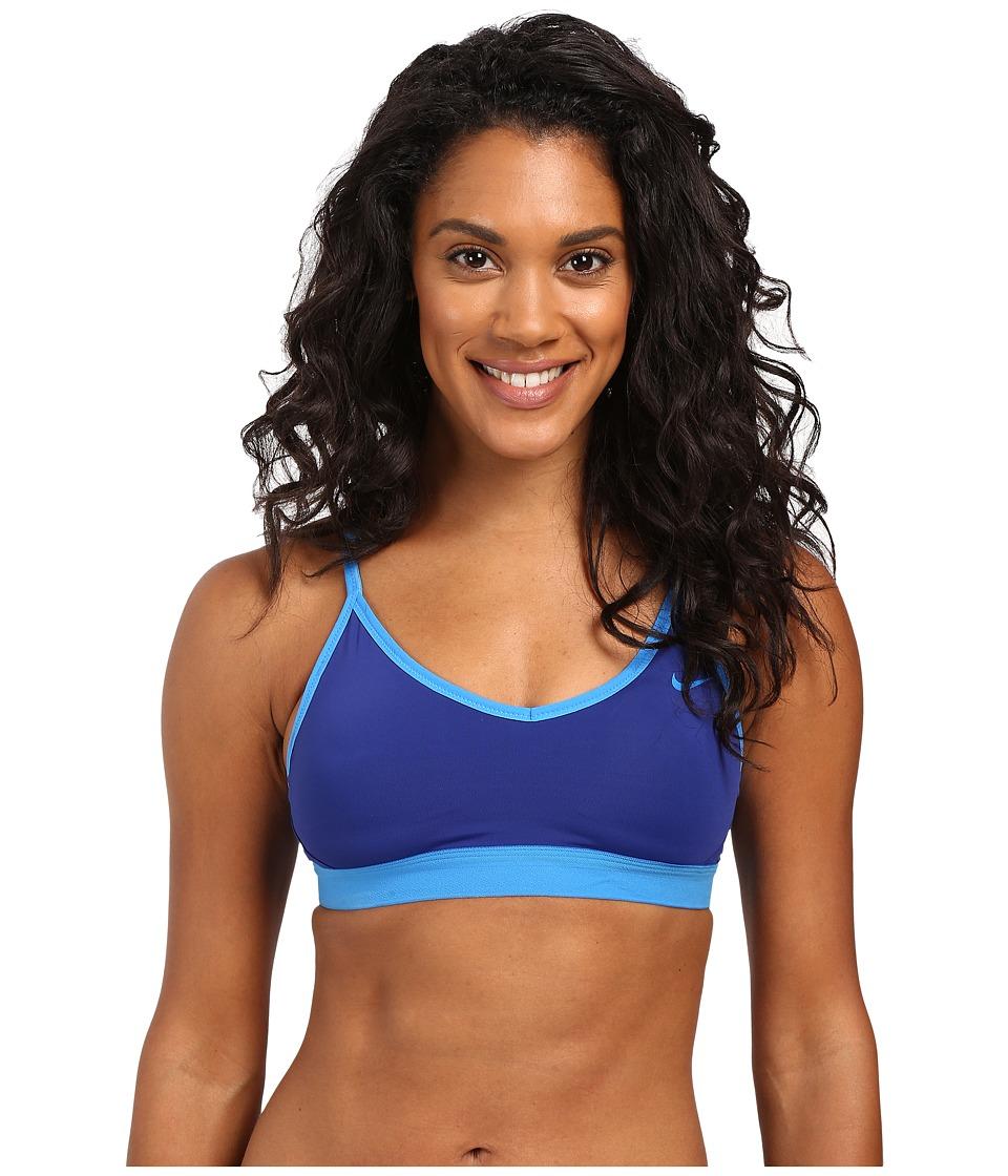 Nike - Pro Indy Bra (Deep Royal Blue/Light Photo Blue) Women's Bra