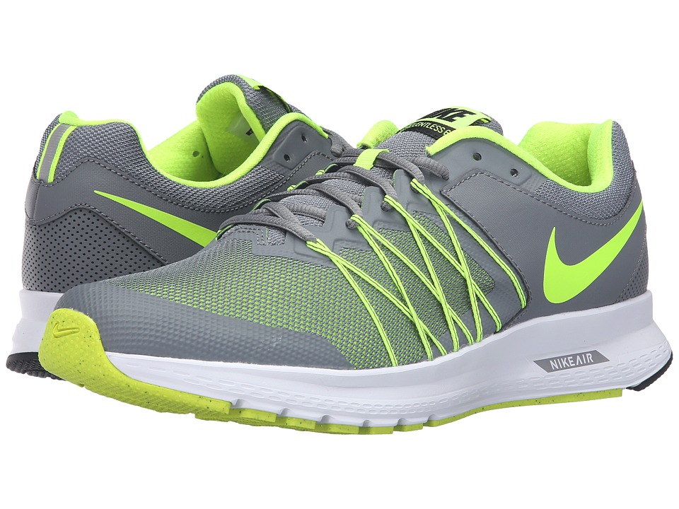 Nike - Air Relentless 6 (Cool Grey/Volt/Black/White) Men's Running Shoes