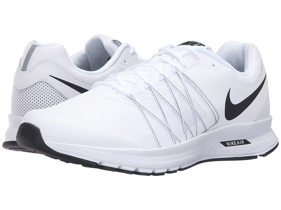 Nike - Air Relentless 6 (White/Black) Men's Running Shoes