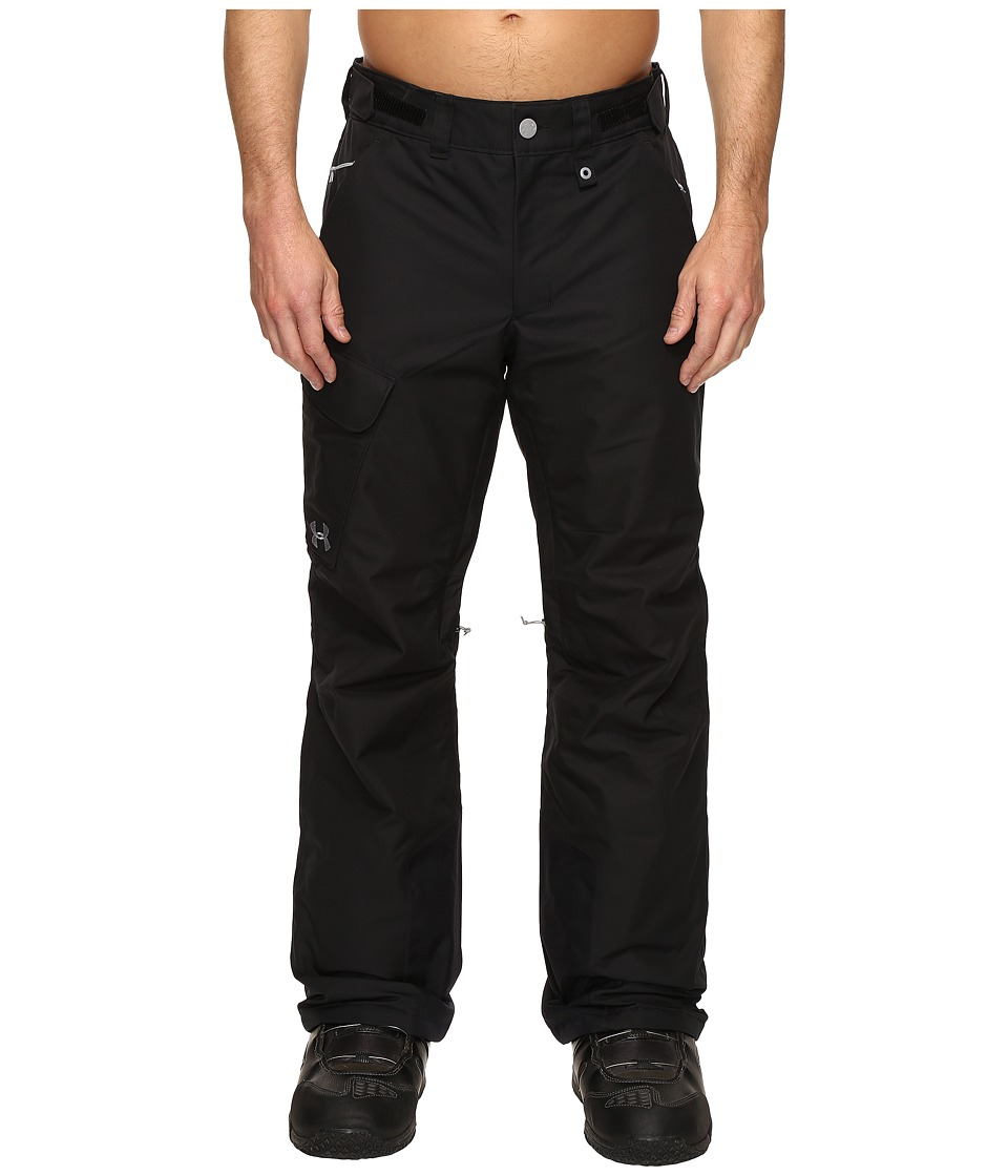 Under Armour - UA CGI Chutes Ins Pants (Black/Steel) Men's Casual Pants