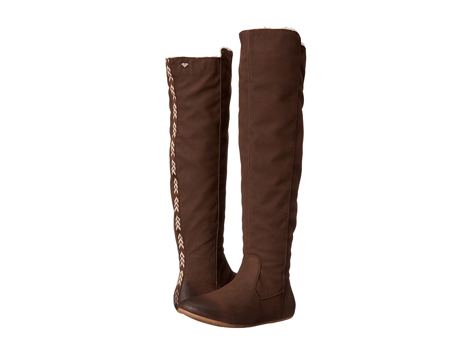 Roxy - Shawnee Boot (Brown) Women's Pull-on Boots